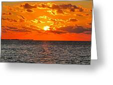Key West Sunset 11 Greeting Card