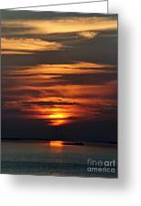 Key West Sunset 2 Greeting Card