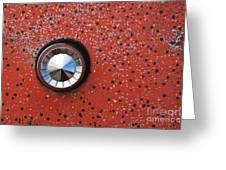 Keyhole Cover Greeting Card