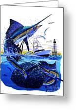 Keys Sail Greeting Card