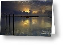 Keys Sunset IIi Greeting Card