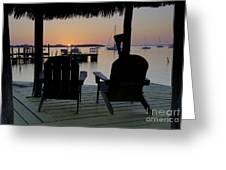 Keys Sunset Iv Greeting Card