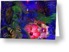 Solar Paradise Greeting Card