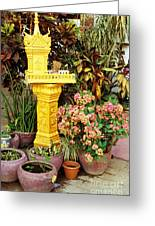Khmer Shrine Greeting Card