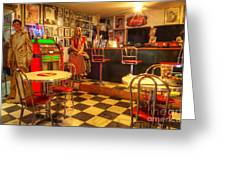 Kickin On Route 66 Greeting Card