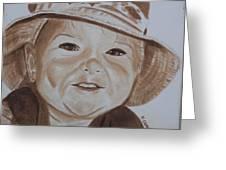 Kids In Hats - Fishing Trip Greeting Card
