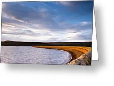Kielder Dam Greeting Card