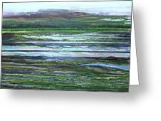 Kielderwater Rhythms And Reflections Greeting Card