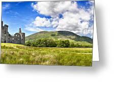 Kilchurn Castle Ruin Greeting Card