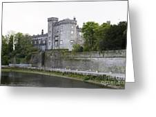 Kilkenny Castle Seen From River Nore Greeting Card