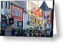 Killarney Ireland Storefronts 7690 Greeting Card