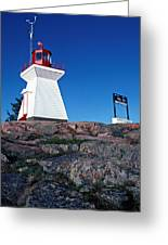Killarney Ontario Lighthouse Greeting Card