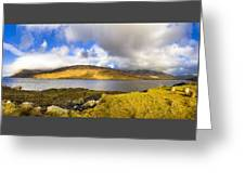 Killary Harbour On The Irish West Coast Greeting Card by Mark E Tisdale
