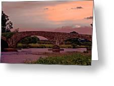 Kilsheelan Bridge Greeting Card