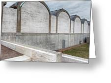 Kimbell Art Museum Fort Worth 3 Greeting Card