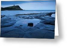 Kimmeridge Bay At Dawn Greeting Card