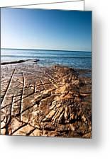 Kimmeridge Bay Seascape  Greeting Card