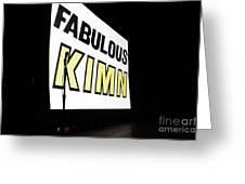 Kimn Radio Denver Colorado Greeting Card