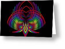 Kinetic Rainbow 30 Greeting Card