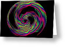 Kinetic Rainbow 36 Greeting Card