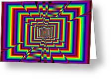 Kinetic Rainbow 42 Greeting Card