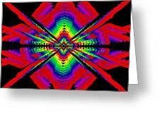 Kinetic Rainbow 44 Greeting Card
