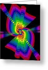 Kinetic Rainbow 47 Greeting Card