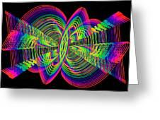 Kinetic Rainbow 55 Greeting Card