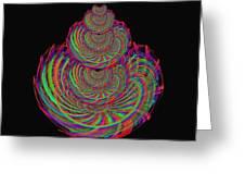 Kinetic Rainbow 67 Greeting Card