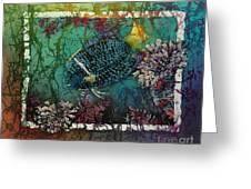 King Angelfish Greeting Card