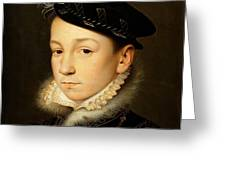 King Charles Ix Of France Greeting Card