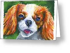 King Charles Greeting Card by Stephen Anderson