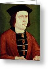 King Edward Iv Of England Greeting Card