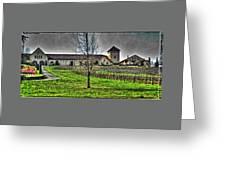 King Estate Winery Greeting Card