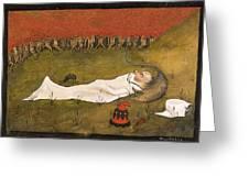 King Hobgoblin Sleeping Greeting Card