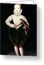 King James I Of England Greeting Card