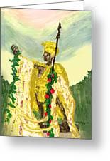 King Kamehameha Festival Greeting Card