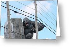 King Kong Greeting Card