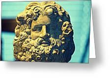 King Neptune  Greeting Card