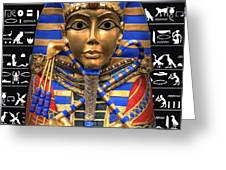 King Of Egypt Greeting Card