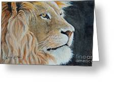 King Of The Forest.  Sold Greeting Card