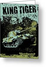 King Tiger 334 Greeting Card