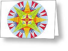 Kingdom Mandala Greeting Card