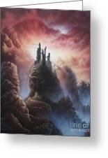 Kingdom Of Stone Greeting Card