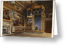 King's Audience Chamber, Windsor Castle Greeting Card