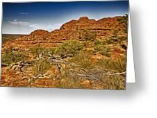 Kings Canyon-the Rim V2 Greeting Card
