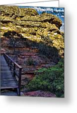 Kings Canyon V11 Greeting Card