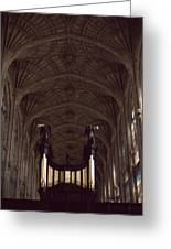 King's College Chapel Greeting Card