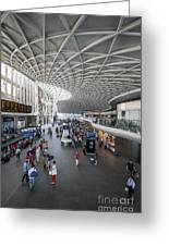 Kings Cross Station Greeting Card