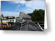 Kings Dominion - 12123 Greeting Card by DC Photographer